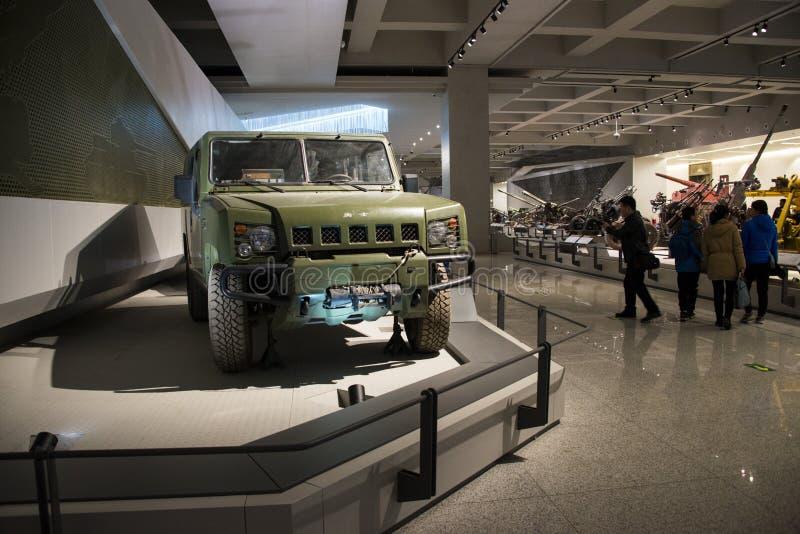 Азия Китай, Пекин, воинский музей, крытый выставочный зал, стоковая фотография