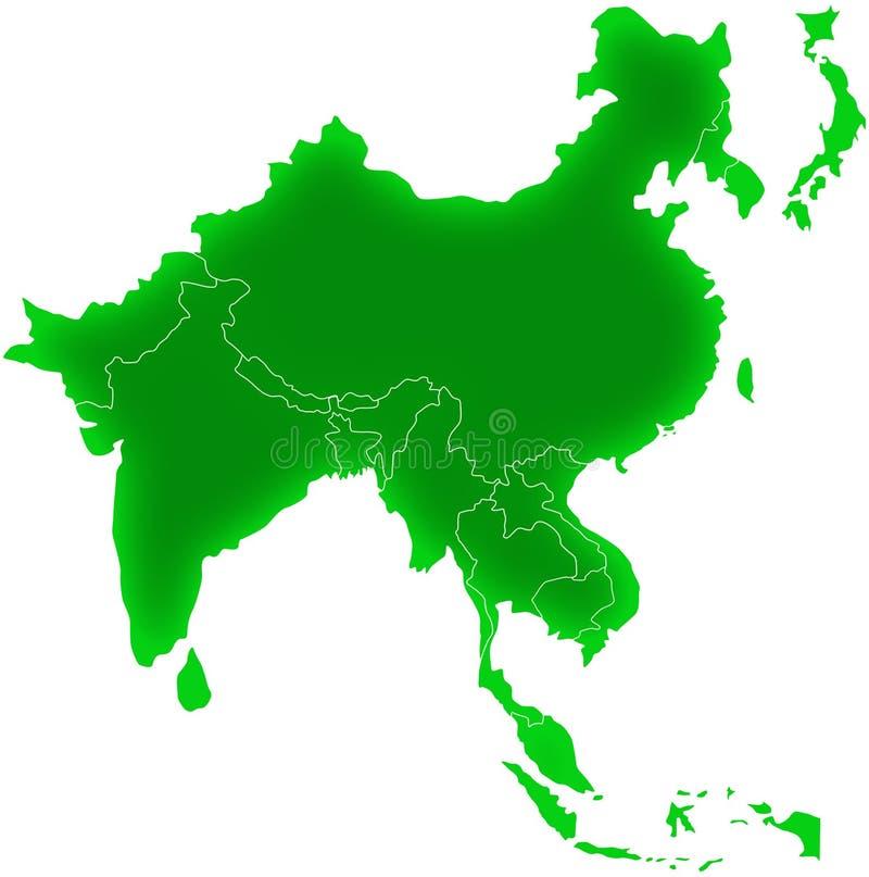 Азия юговосточая иллюстрация штока