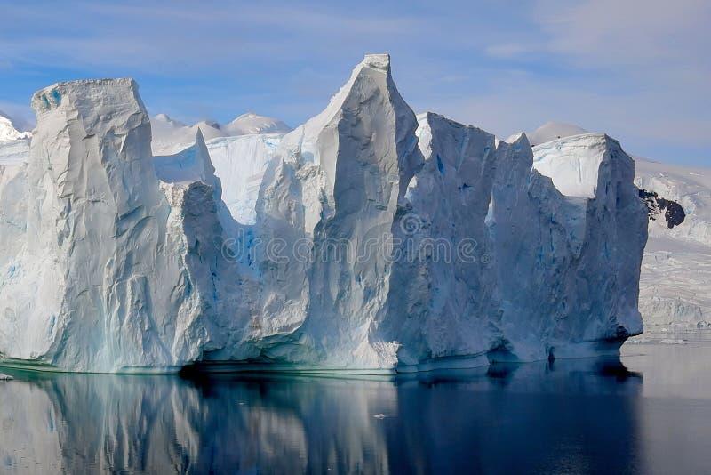 Айсберг, Антарктика стоковые изображения
