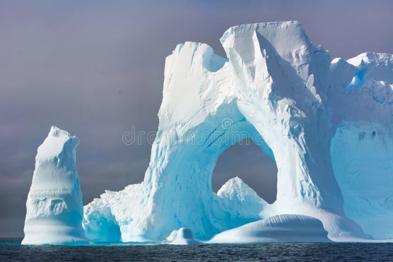 Айсберг в Антарктике стоковое изображение rf