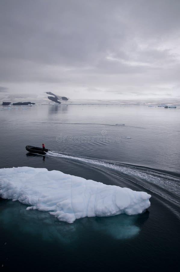 Айсберг в Антарктике стоковые фотографии rf