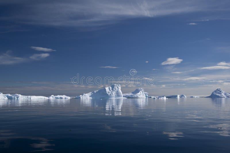 Айсберг в Антарктике стоковое фото