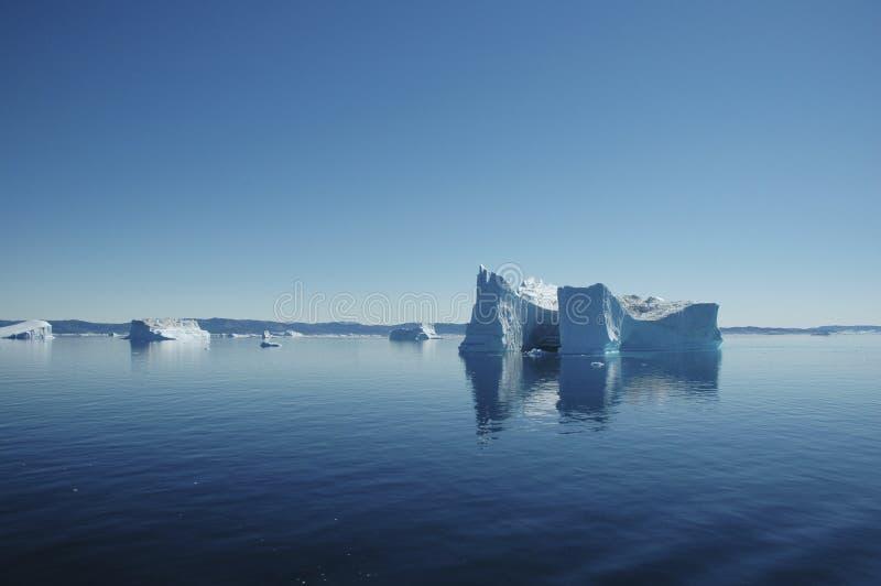 айсберг Гренландии стоковые фотографии rf