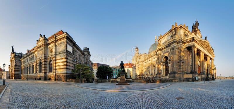 Академия художеств Дрездена стоковое изображение rf