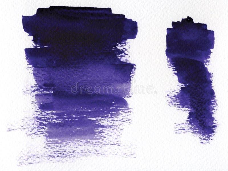акварель нашлепок стоковые изображения