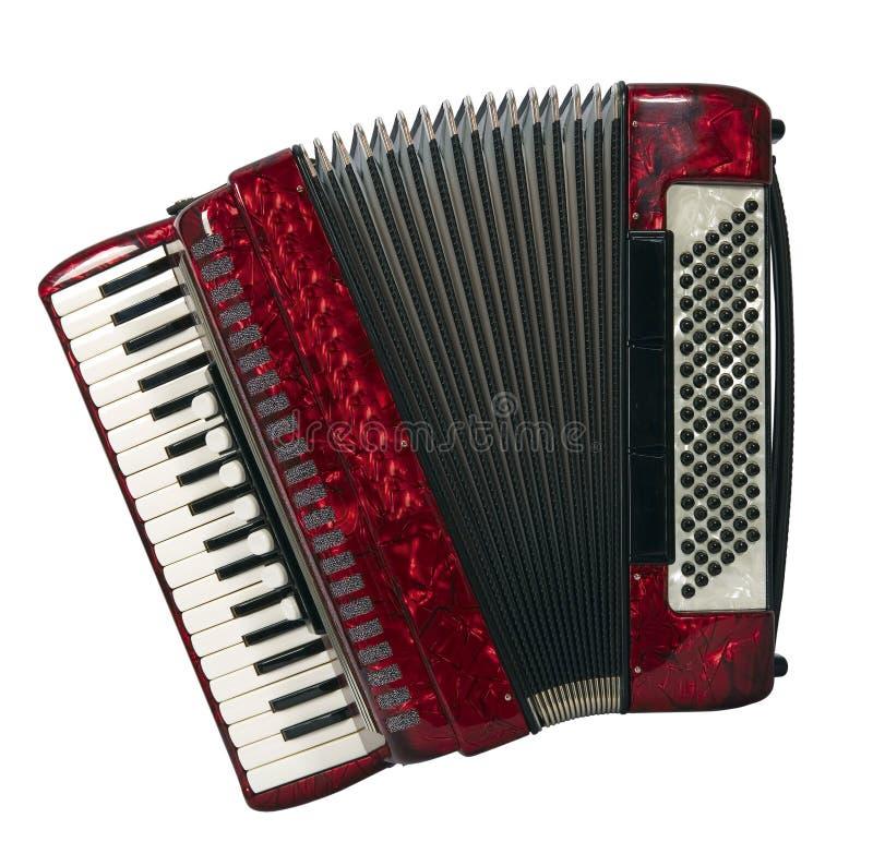аккордеоня стоковое изображение