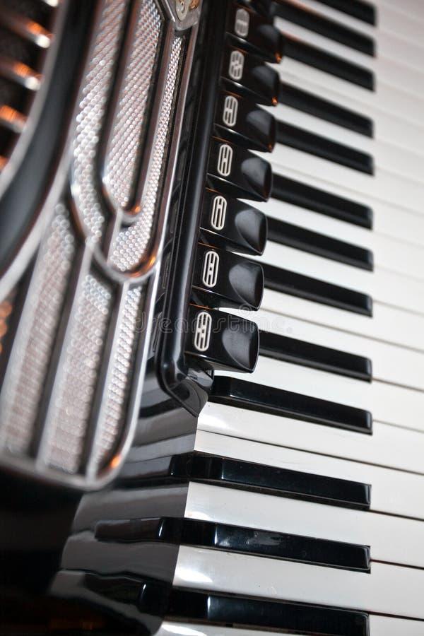 аккордеоня стоковое изображение rf