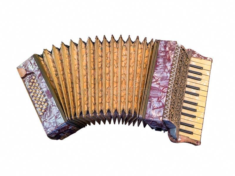 аккордеоня старая стоковые изображения