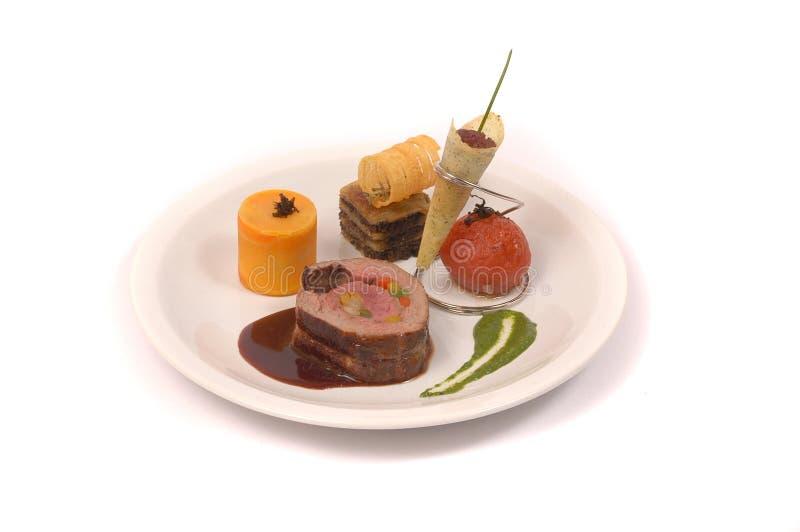 лакомка еды принципиальной схемы питательная стоковое изображение