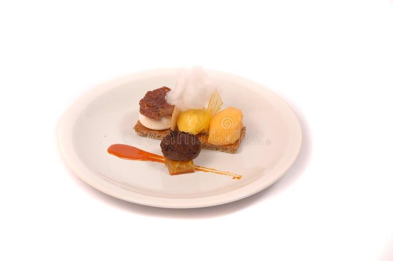 лакомка еды принципиальной схемы питательная стоковые фото