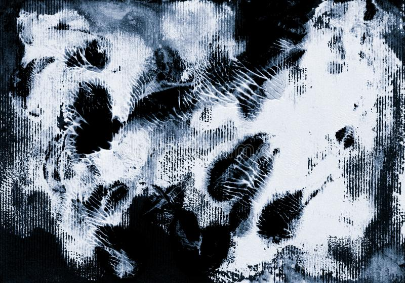 Акриловая текстура для черноты monochrome предпосылки стоковое изображение rf