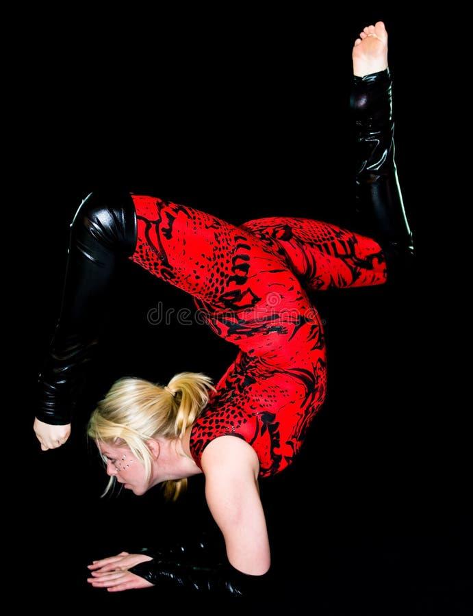 акробатика стоковое изображение