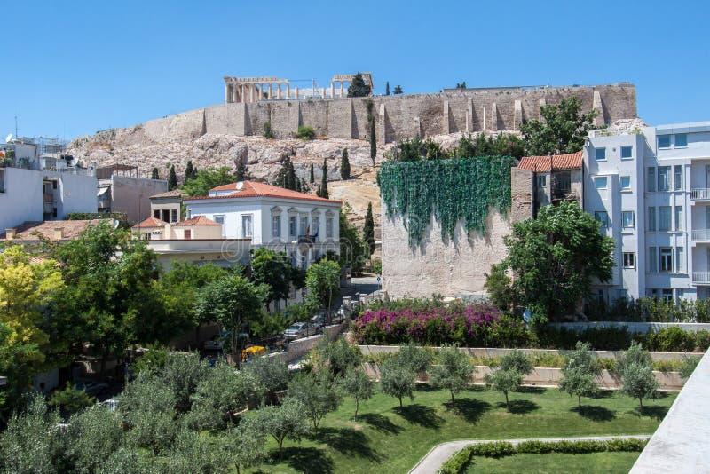 Акрополь Афиныы Греция стоковое изображение rf