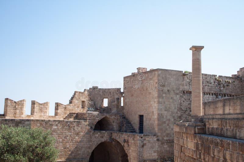 Акрополь стоковое фото rf