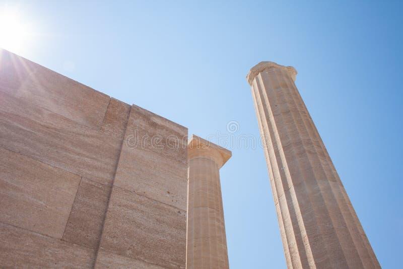 Акрополь стоковые изображения rf