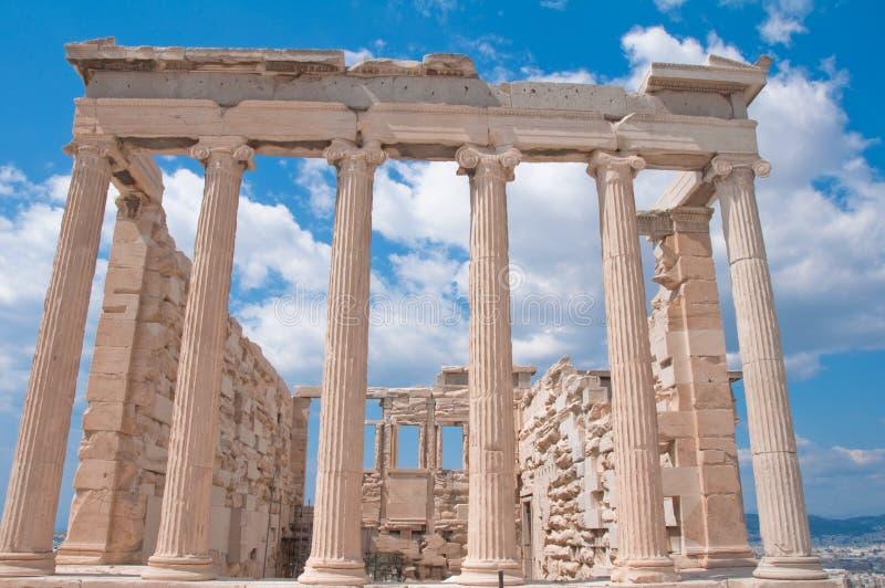 акрополь athens стоковое изображение rf