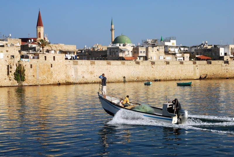 Акр Akko Израиль стоковые фото