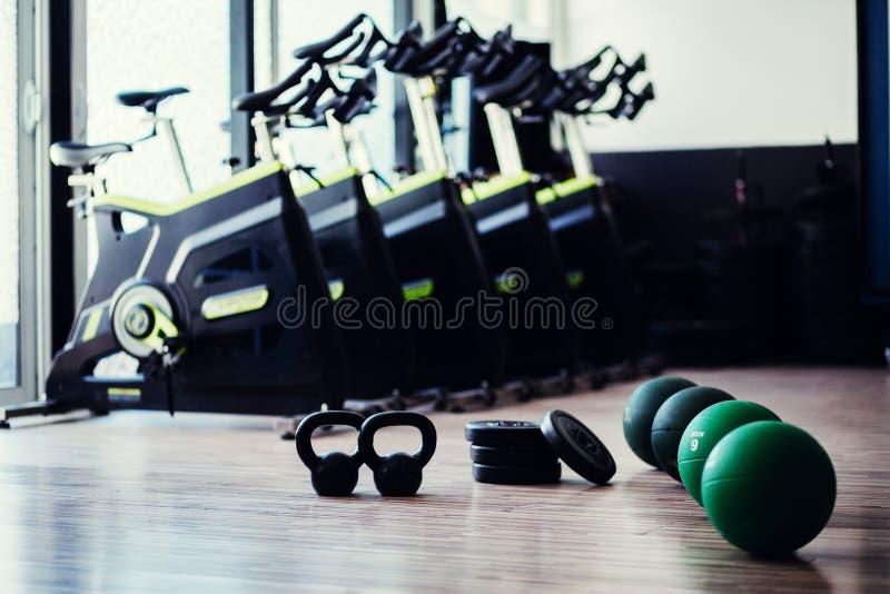 Аксессуары фитнеса Weightloss стоковое изображение