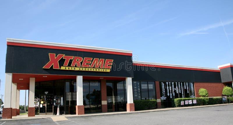 Аксессуары Xtreme автоматические стоковая фотография rf