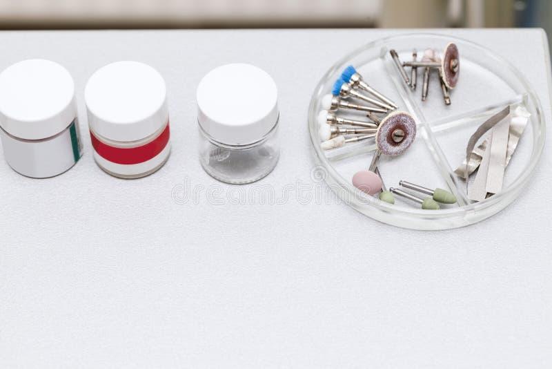 Аксессуар оборудования дантиста стоковые изображения rf
