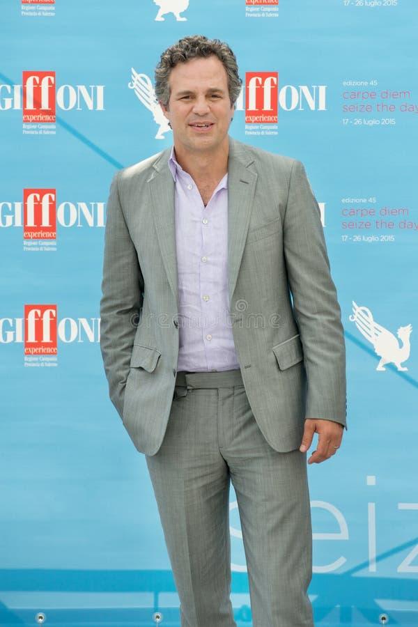Актер Марк Ruffalo стоковое изображение rf
