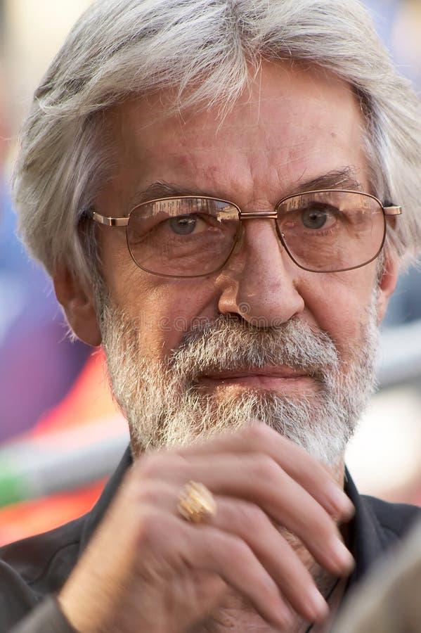 актер boris kmelnitskiy стоковое изображение