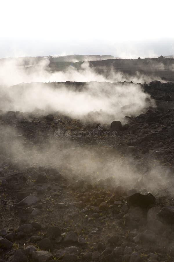 активный вулкан стоковые фотографии rf