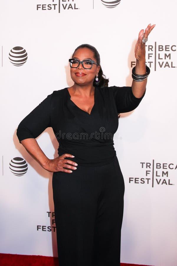 Актриса/главный продюсер Oprah Winfrey стоковое изображение