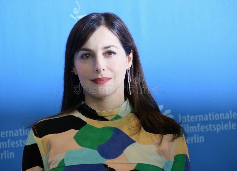 Актриса Amira Casar присутствует на ` вызывает меня вашим ` имени стоковое фото rf