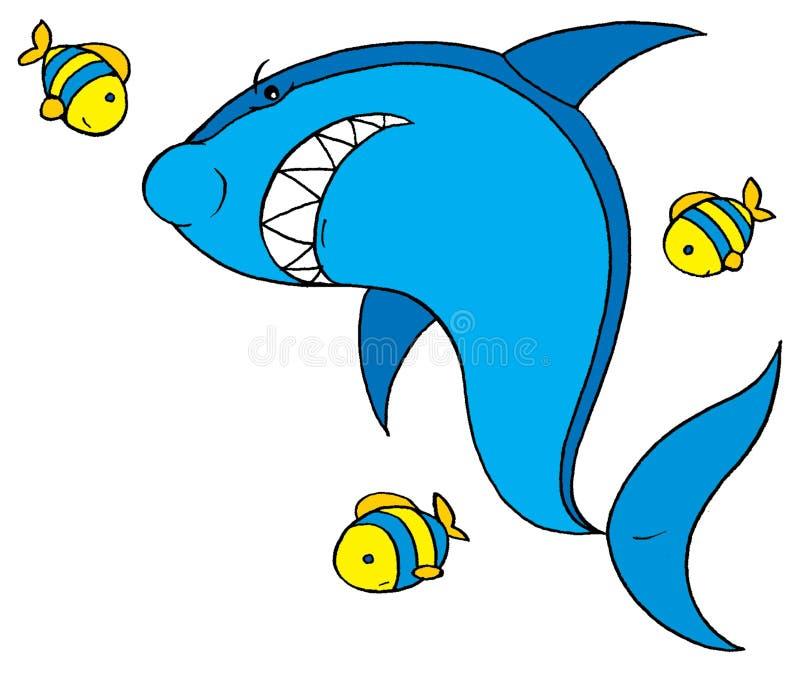 акула рыб иллюстрация штока