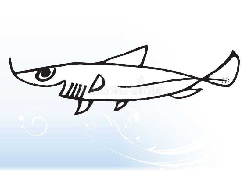 акула шаржа бесплатная иллюстрация