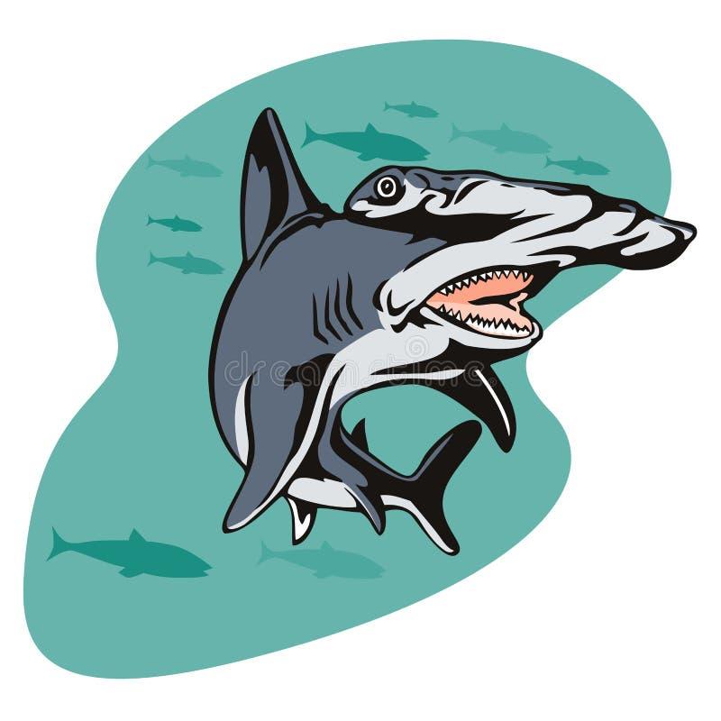 акула hammerhead бесплатная иллюстрация
