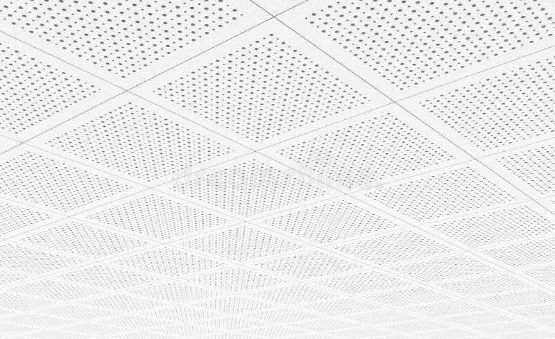 Акустические плитки потолка стоковые фото