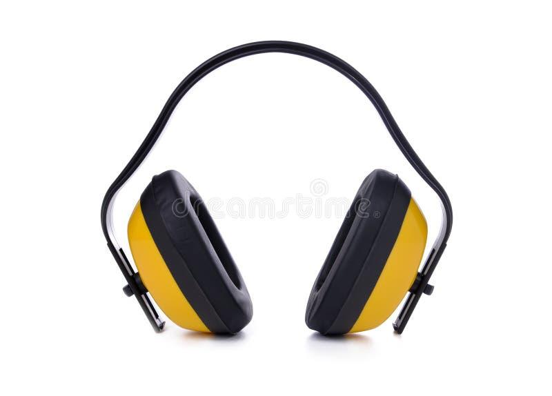 акустические earmuffs стоковые фотографии rf