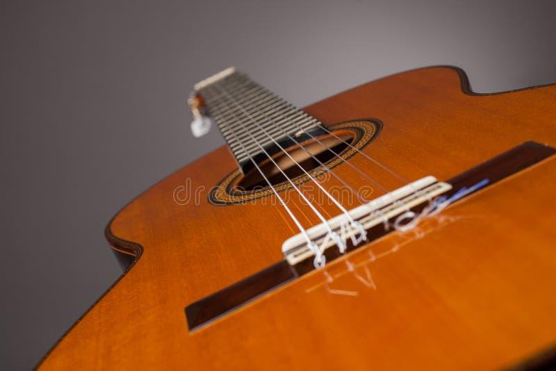 Акустическое gitar стоковое изображение rf