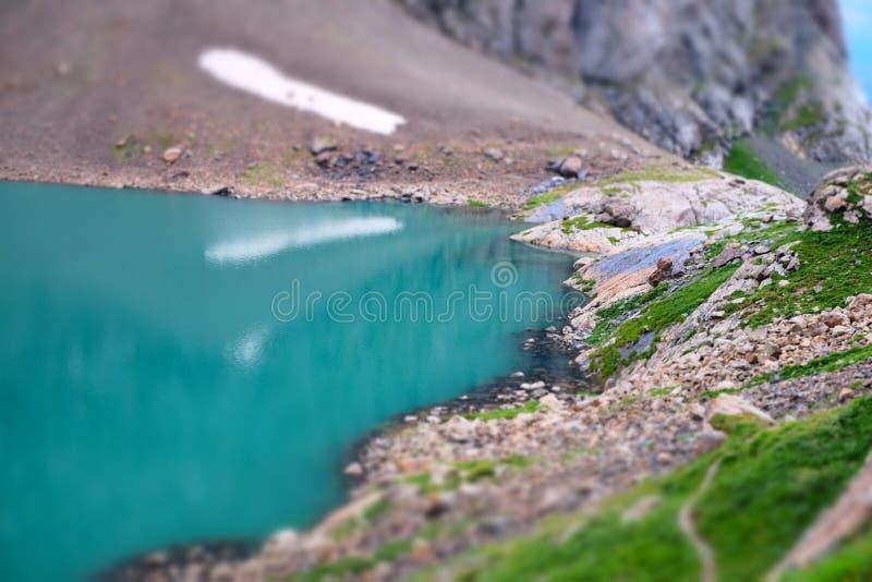 Ала-kul озера, Кыргызстан стоковые изображения rf