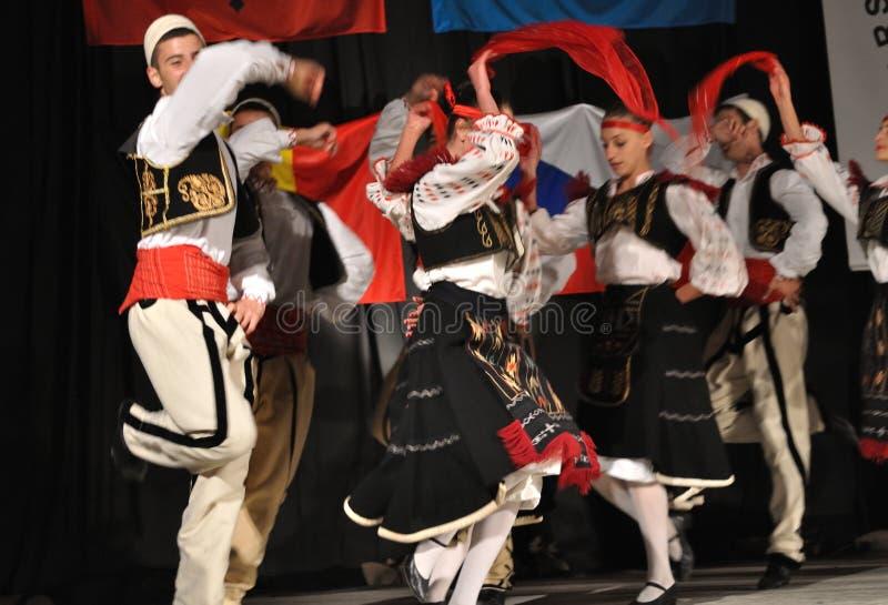 албанский фольклор стоковые фото