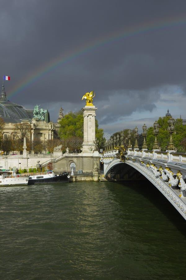 Александр третья радуга bridgeunder стоковое изображение rf