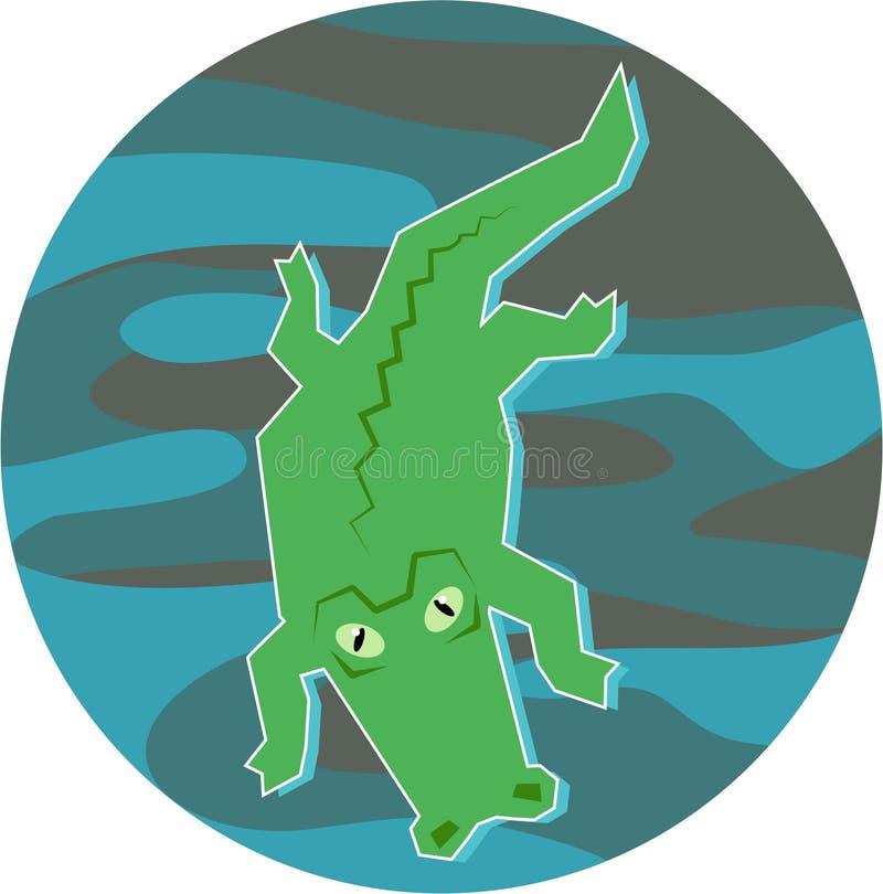 Download аллигатор иллюстрация штока. иллюстрации насчитывающей иллюстрации - 90249