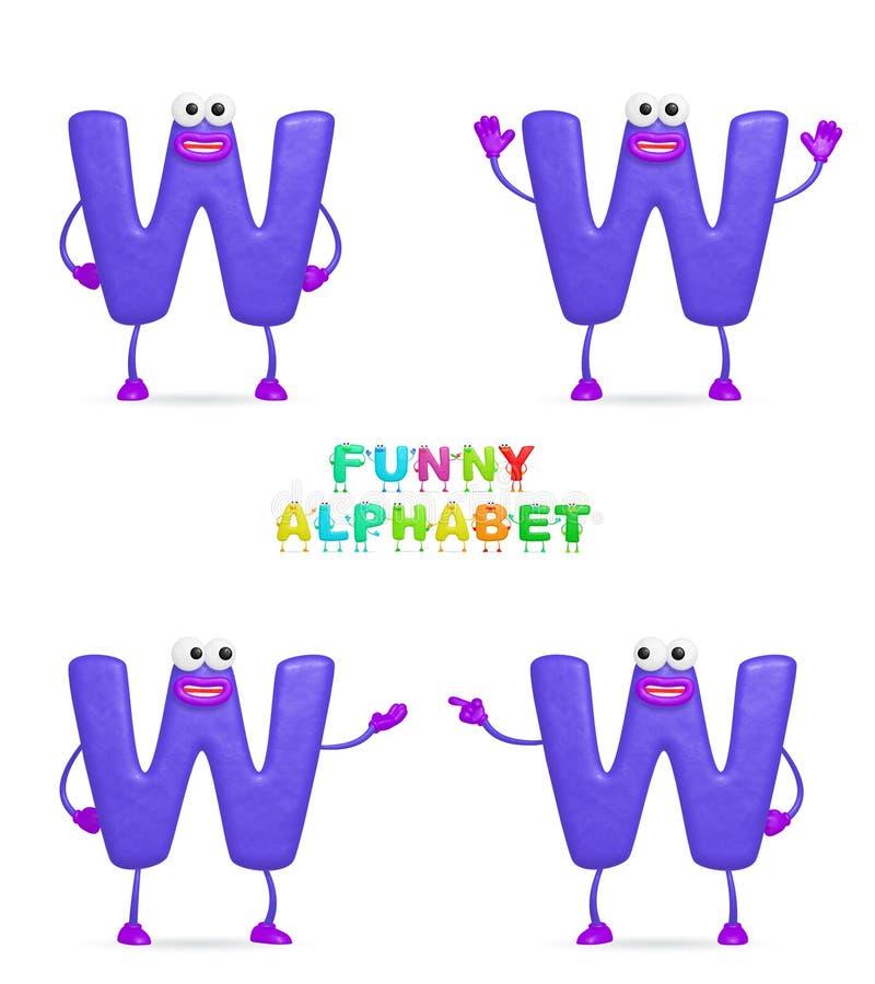 алфавит смешной бесплатная иллюстрация