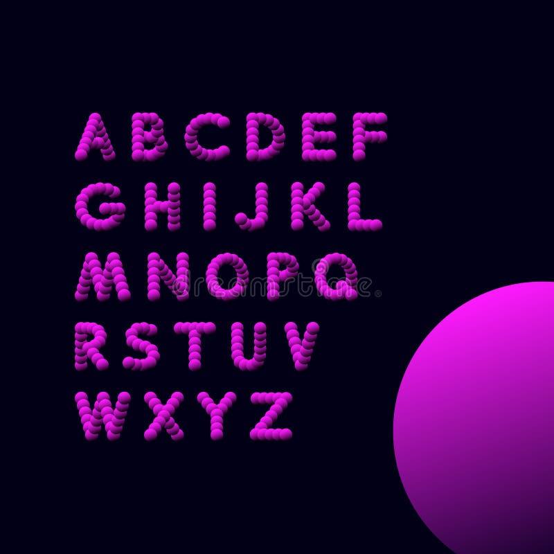 алфавит abc помечает буквами механически расписание комплекта вектор иллюстрации 3d элементы конструкции предпосылки 4 снежинки б бесплатная иллюстрация