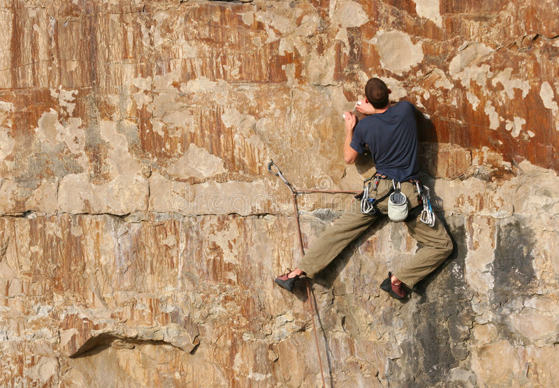 альпинист 6 стоковое фото rf