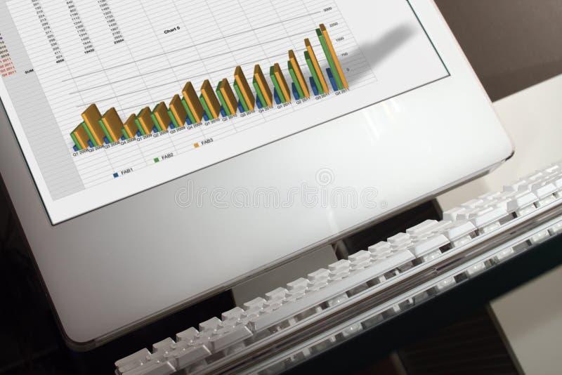 Download альтернативный взгляд компьютера к Стоковое Фото - изображение насчитывающей стол, оборудование: 6852320
