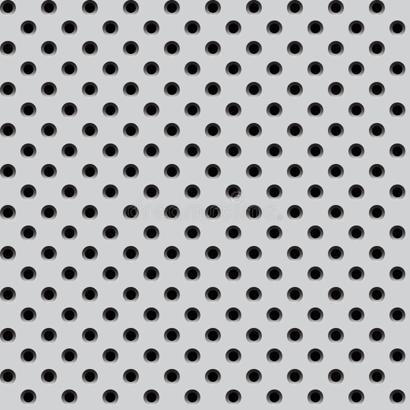 алюминиевая картина металла решетки иллюстрация штока