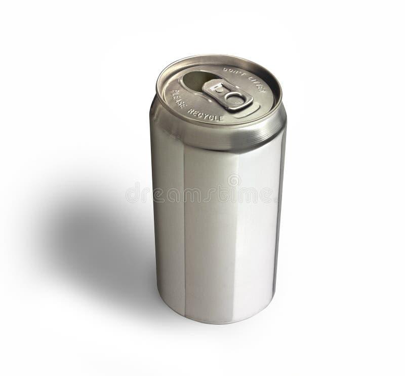 алюминиевая чонсервная банка стоковое изображение rf