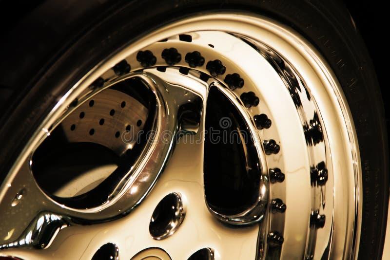 алюминиевое колесо стоковая фотография rf