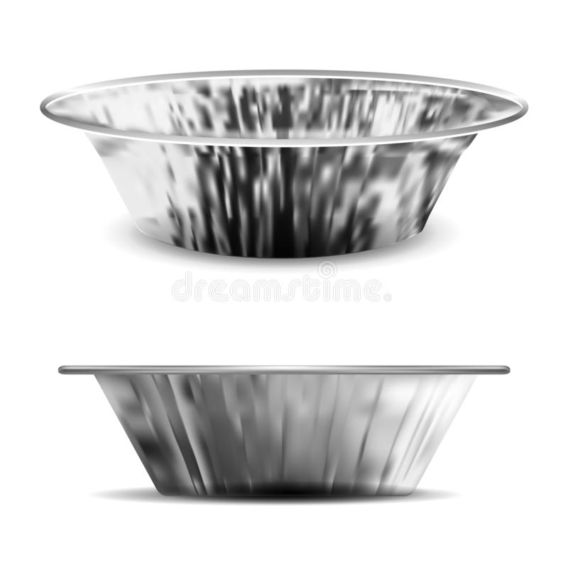 Алюминиевый печь лоток бесплатная иллюстрация