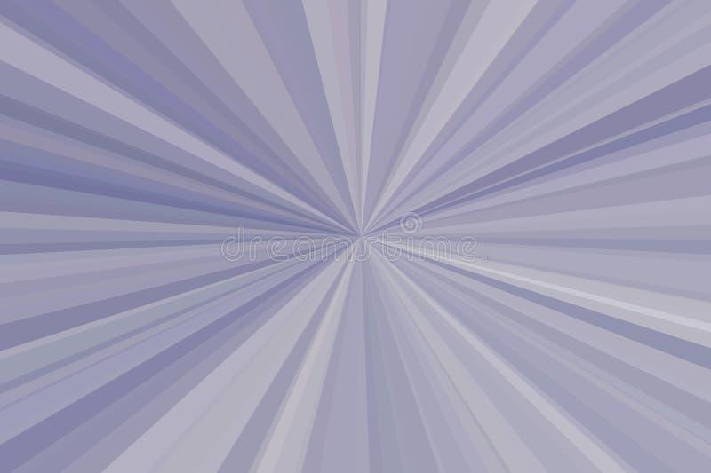 Алюминий, серебряный конспект металла излучает предпосылку Stripes конфигурация пучка излучения Тенденция стильной иллюстрации со стоковое фото rf