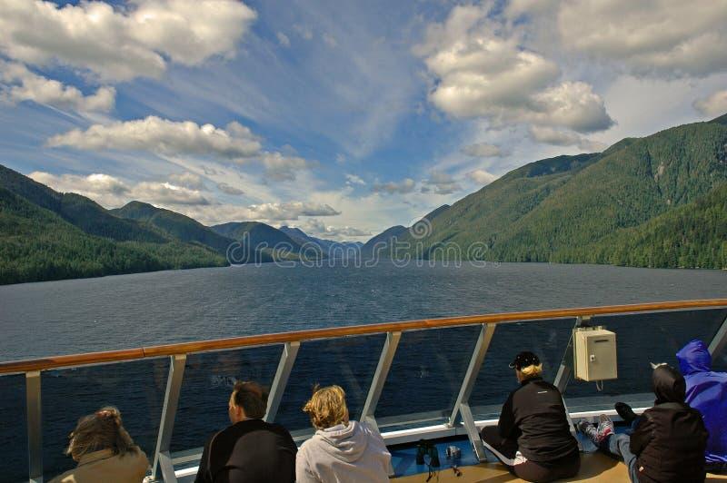 Аляска внутри прохода стоковое фото rf