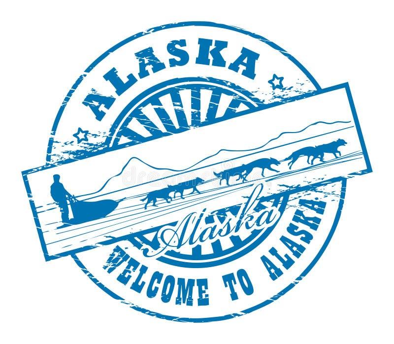 Аляска иллюстрация вектора